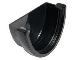 Floplast 115mm Hi-Cap Deepflow Gutter External Stop End