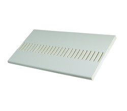 White PVC Vented Soffit Board