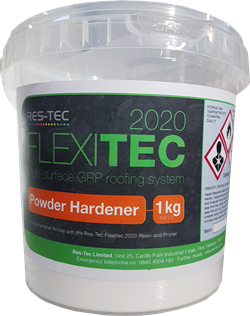 RES-TEC FLEXITEC POWDER HARDENER - 1KG
