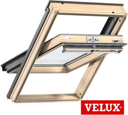 VELUX GGL Pine Centre-Pivot Roof Windows