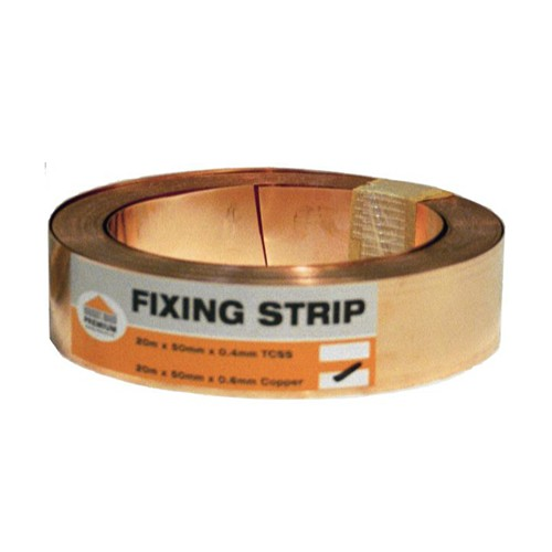 Copper Strip - 50mm x 20mtr