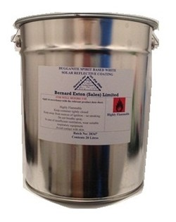 Dugganite White Solar Reflective Paint